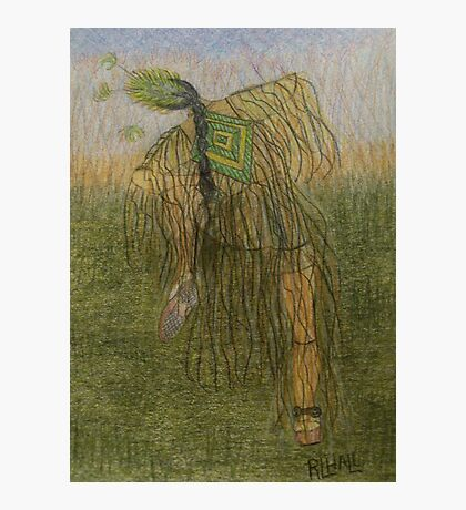 Grass Dancer Photographic Print