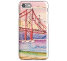 tejo . quick coffee table sketch. cafe in iPhone Case/Skin