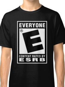 Content Rated by ESRB Classic T-Shirt