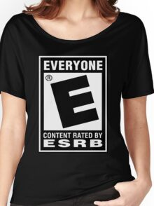 Content Rated by ESRB Women's Relaxed Fit T-Shirt