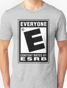 Content Rated by ESRB T-Shirt
