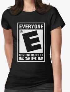Content Rated by ESRB Womens Fitted T-Shirt
