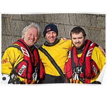 Local Heroes ~ RNLI Poster