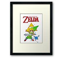 Link, I am a Legend Framed Print