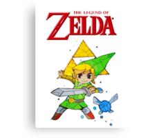 Link, I am a Legend Canvas Print