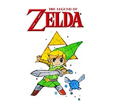 Link, I am a Legend Photographic Print