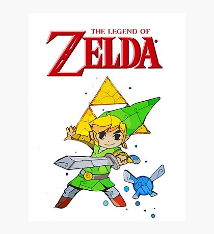 Link, I am a Legend Photographic Print