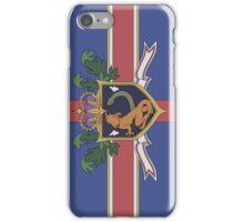 The Holy Empire of Britannia Flag iPhone Case/Skin