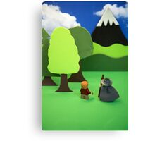 Misty Mountain Canvas Print