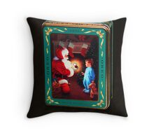 Christmas Oreo Tin Throw Pillow