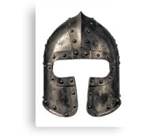 Medieval Armour Helmet Canvas Print