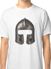 Medieval Armour Helmet Classic T-Shirt