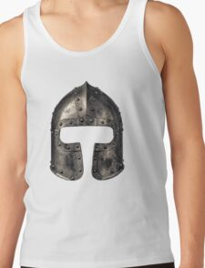Medieval Armour Helmet Tank Top