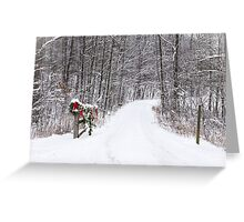 Welcome Home Christmas - Allen County, Indiana Greeting Card