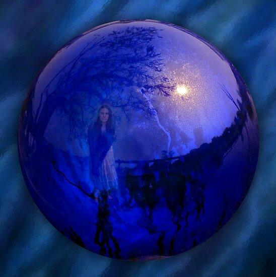The Gazing Ball by Keeli