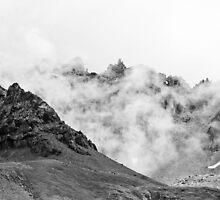 Foggy Peak  by maartina