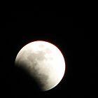 eclipse of the moon #3 by gypsykatz