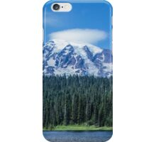 Mount Rainier View from Reflection Lakes iPhone Case/Skin