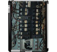 Fuse and Breaker Box iPad Case/Skin