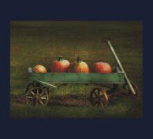Autumn - Pumpkins - Free ride One Piece - Short Sleeve