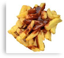 British Chips Canvas Print