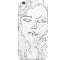 Woman Dissolved iPhone Case/Skin