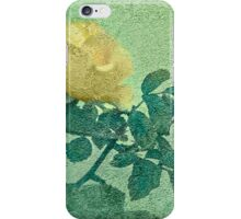 Yellow Rose Vintage Style Photo iPhone Case/Skin