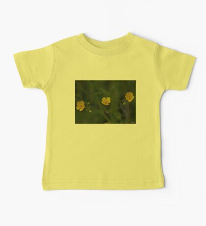 Three Meadow Buttercups - Burntollet Woods, County Derry Baby Tee
