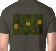 Three Meadow Buttercups - Burntollet Woods, County Derry Unisex T-Shirt