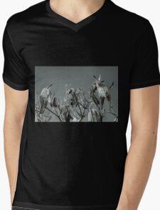 Milkweed HDR Mens V-Neck T-Shirt