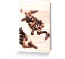 Cloves Greeting Card