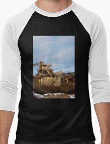 Mining Equipment and Conveyors 2 Men's Baseball ¾ T-Shirt