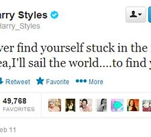 Harry Styles Tweet by 1d-af