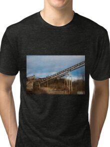 Mining Equipment and Conveyors 3 Tri-blend T-Shirt