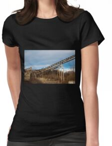 Mining Equipment and Conveyors 3 Womens Fitted T-Shirt