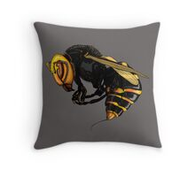 Japanese  wasp Throw Pillow