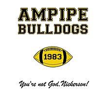 Ampipe Football Photographic Print