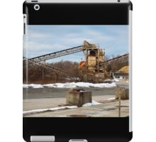 Mining Equipment and Conveyors iPad Case/Skin