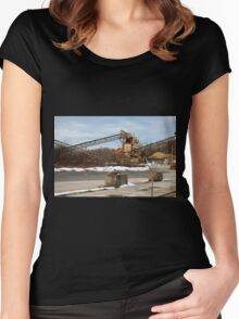 Mining Equipment and Conveyors Women's Fitted Scoop T-Shirt