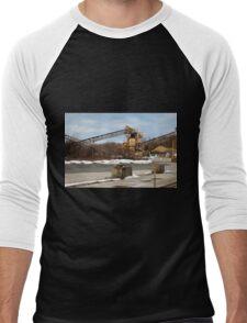 Mining Equipment and Conveyors Men's Baseball ¾ T-Shirt