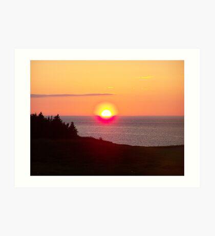 Nova Scotia Sunset Art Print