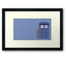 Doctor Who. The tenth doctor Framed Print