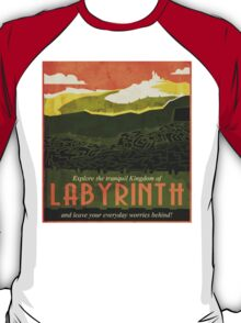 Explore the Tranquil Kingdom of Labyrinth T-Shirt