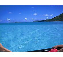 Bluuuuuuuue Lagoon Photographic Print