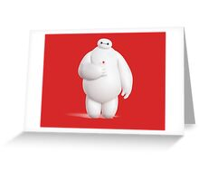 Baymax #2 Greeting Card