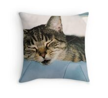 precious in tub Throw Pillow