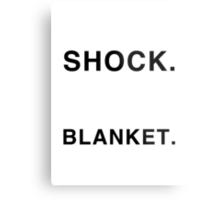 Shock Blanket Metal Print