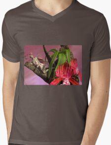Orchid Fae Mens V-Neck T-Shirt