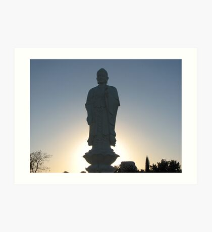 Standing Budda Art Print