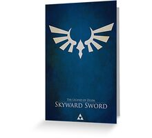 Skyward Sword Greeting Card